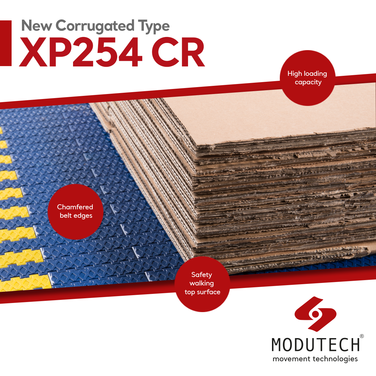 Features of Modutech Corrugated New Type